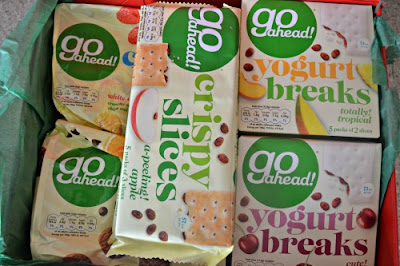 GO AHEAD!  Healthy Snacks review