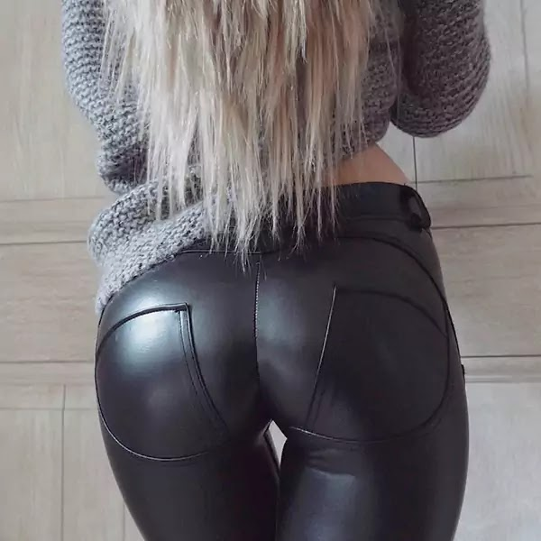 Leather PushUp Leggings