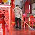 Jelang Tahun Baru Imlek, Klenteng Kong Hwie Kiong Kebumen Dibersihkan Polisi