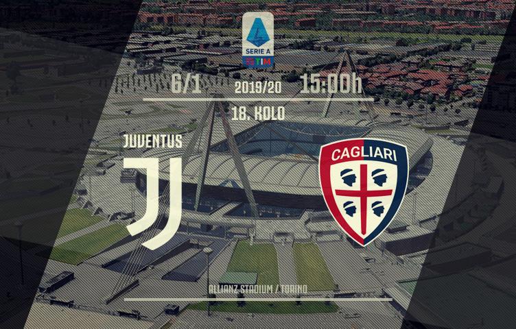 Serie A 2019/20 / 18. kolo / Juventus - Cagliari, ponedeljak, 15h