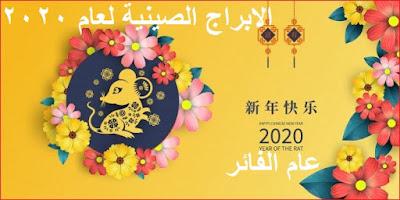 أبراج صينية 2020 - عام الفأر المعدني
