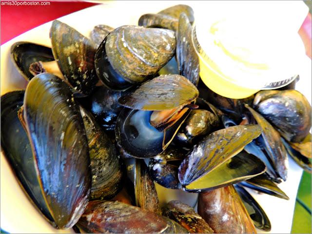 Mejillones de Thurston's Lobster Pound en Maine