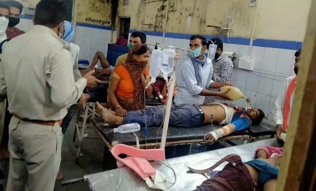 GWALIOR में बेकाबू कार सरपंच के घर में घुसी 7 को कुचला, 2 की मौत - MP NEWS