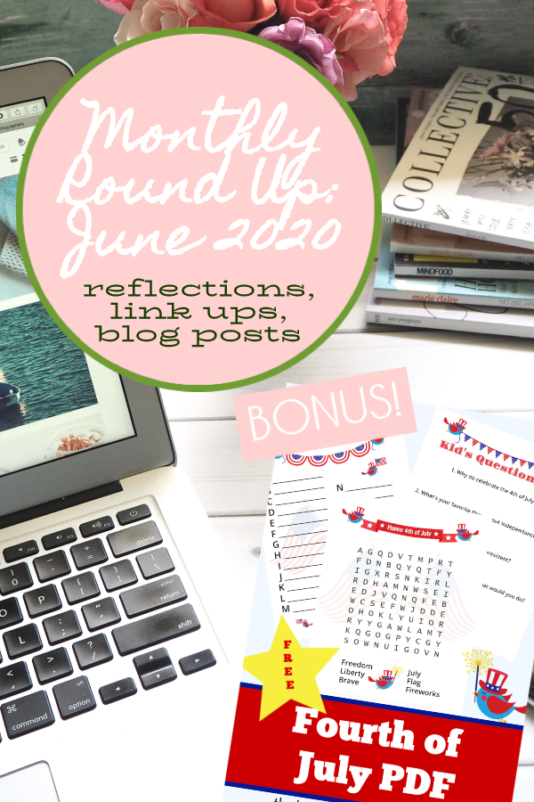 bohemian catholic monthly round up june 2020 free bonus pdf printable july 4th