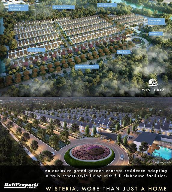 masterplan kawasan wisteria keppel land