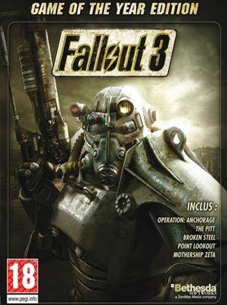 تحميل لعبة القتال Fallout 3