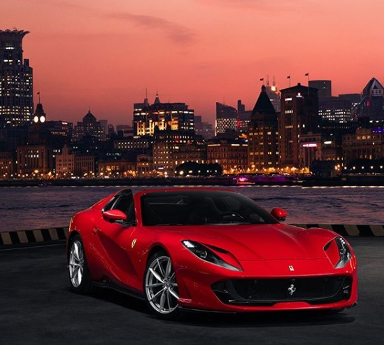 The Ferrari 812 GTS Spyder