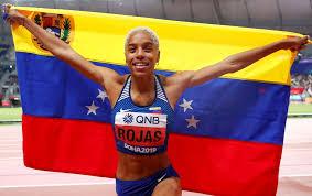 La Venezolana Yulimar Rojas figura entre las cinco finalistas a mejor atleta del año