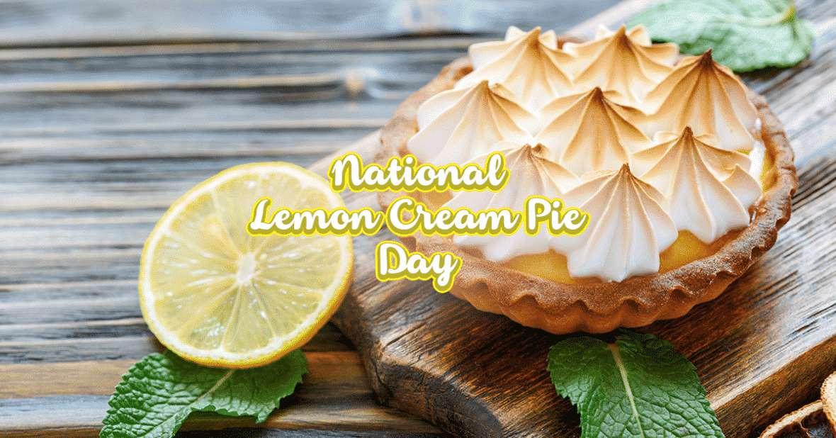 National Lemon Cream Pie Day Wishes