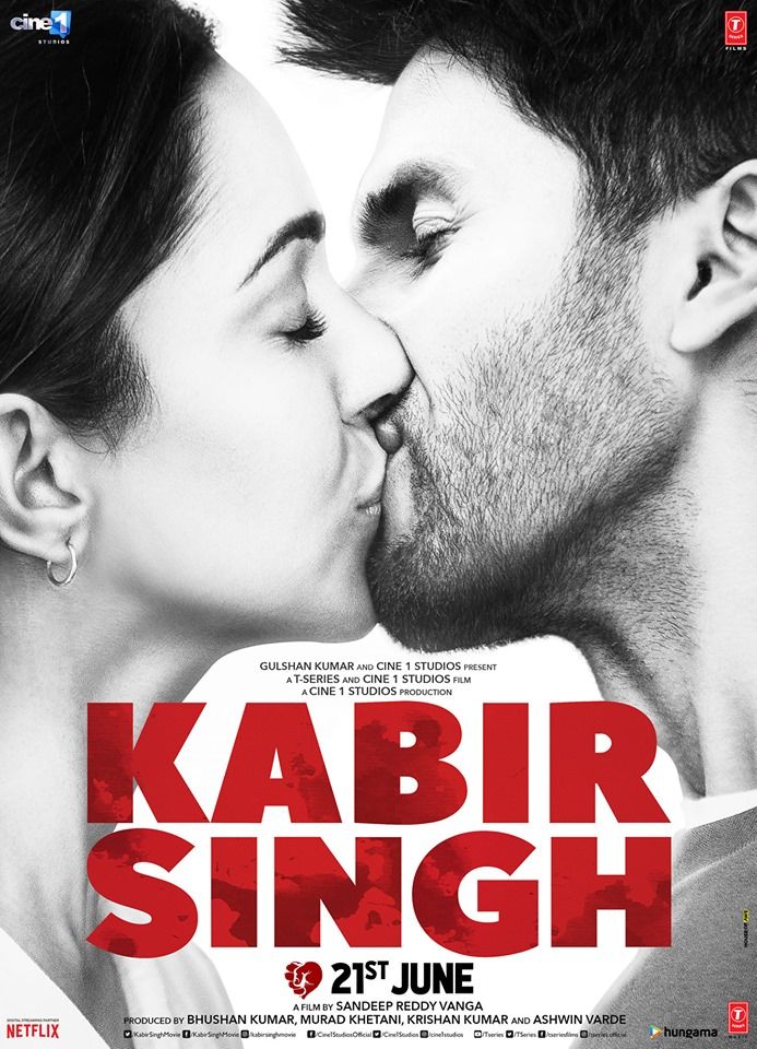 Kabir Singh Full movie Leaked by Movies Counter
