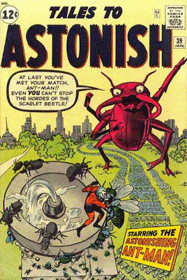 Tales to Astonish #39, Ant-Man v the Scarlet Beetle