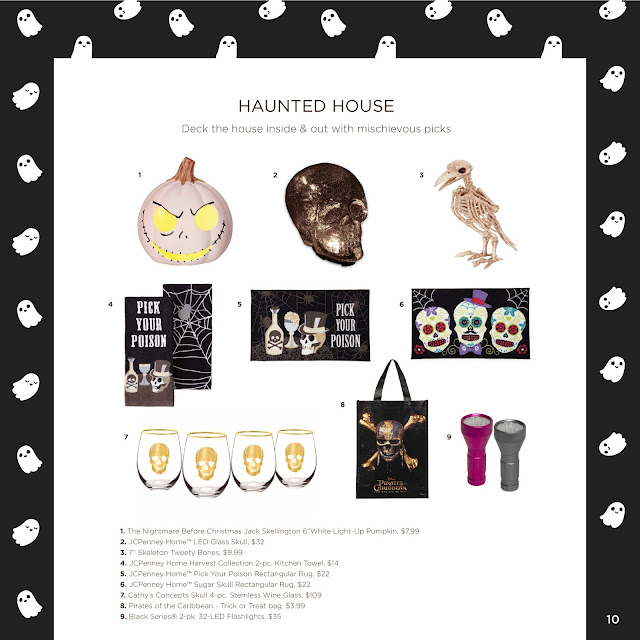 JCPenney's Halloween Tricks & Treats Look Book  via  www.productreviewmom.com