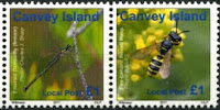 Canvey Local Post Endangered Insects Stamps