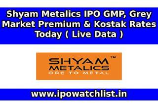 Shyam Metalics IPO GMP