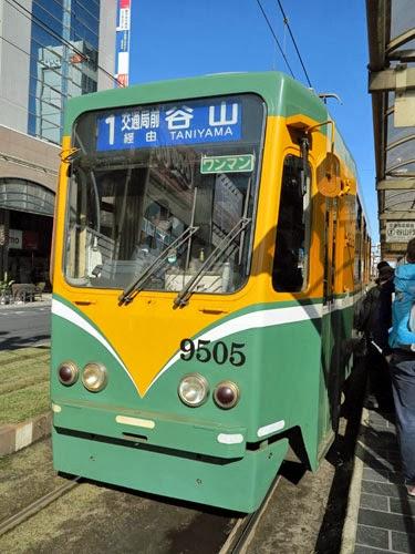 Kagoshima Trams, Kyushu, Japan