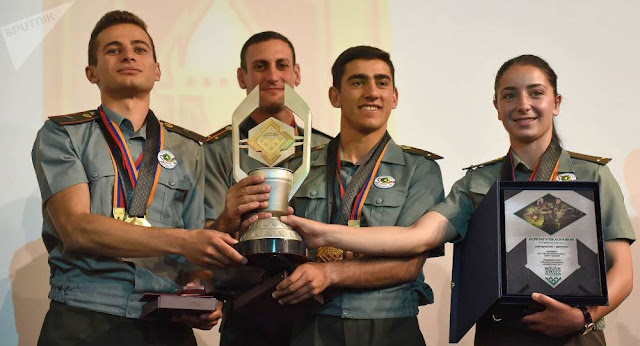 Armenia gana el concurso internacional Peace Fighter