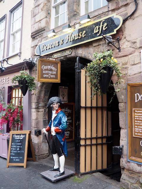 Deacon's House Cafe, Royal Mile, Edinburgh
