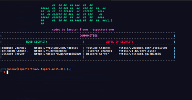 PwnLnX : An Advanced Multi-Threaded, Multi-Client Python Reverse Shell For Hacking Linux Systems