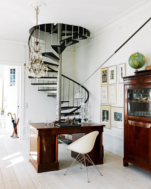Inspiring Spiral Staircase: Vintage & Chic · Blog Decoración. Vintage. DIY. Ideas Para