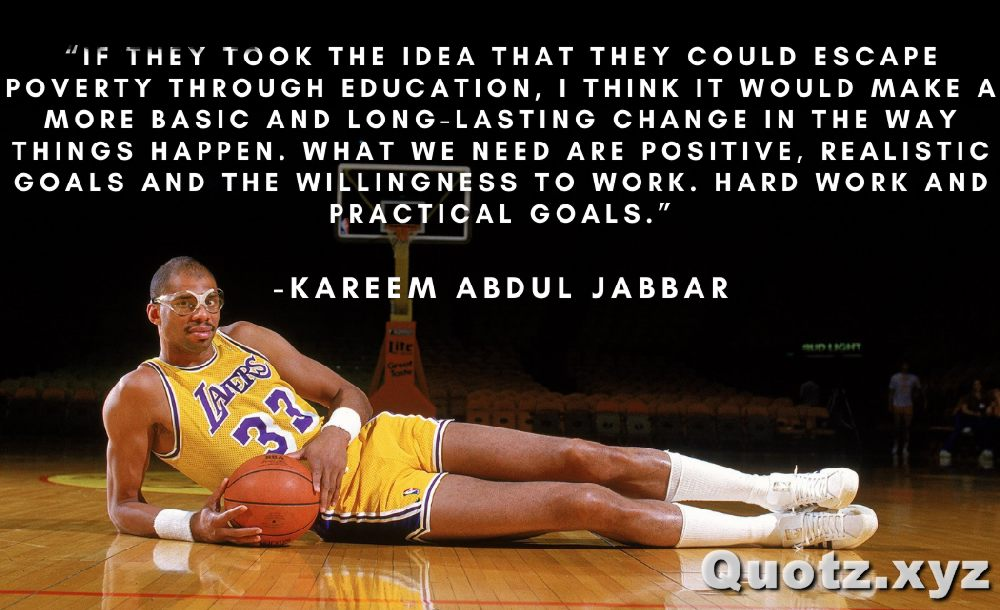Kareem Abdul Jabbar Quotes for inspiration motivation with quotes images
