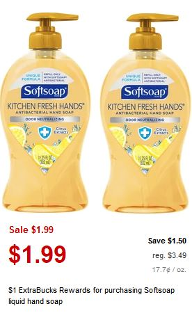 cvs Softsoap Hand Soap deal