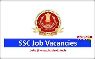 SSC Stenographer Recruitment 2020-21 Notification Apply Online