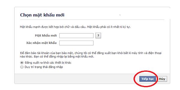 lấy lại tài khoản faceboook bị khóa hay mất