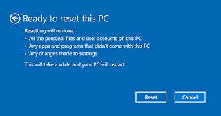 Reset this PC adalah fitur yang berguna untuk membantu semua pengguna Windows 10 untuk me-reset komputer mereka