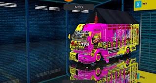 Truck Livery Mahartya Putri