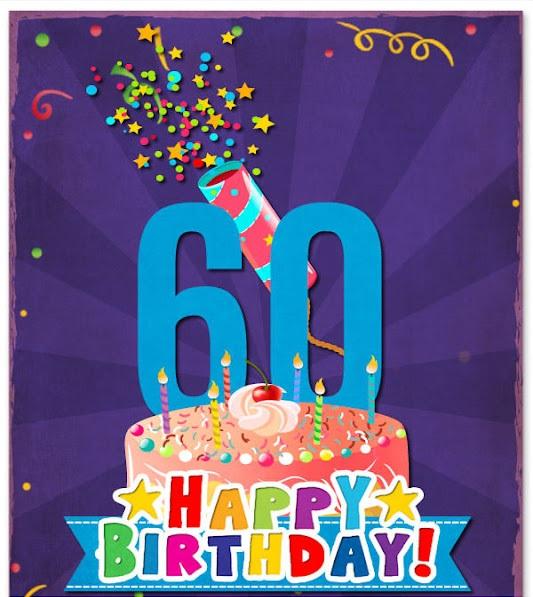 Splendid Happy 60th Birthday Wishes