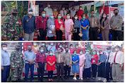 Maraton Pantau Penilaian Posko Kampung Tangguh di Kecamatan Belang, Abdjulu : Apresiasi Kinerja Pemdes