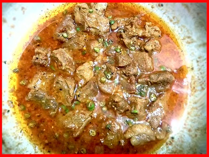 Very Easy Beef Achar Gosht Recipe