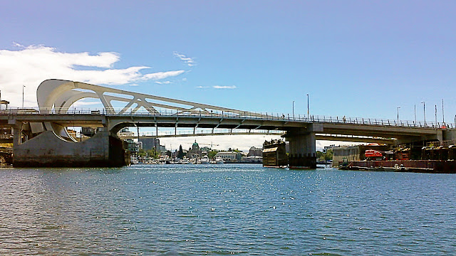 Victoria, BC's new bridge...