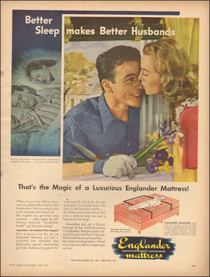 Englander Mattress -- Better Sleep Makes Better Husbands