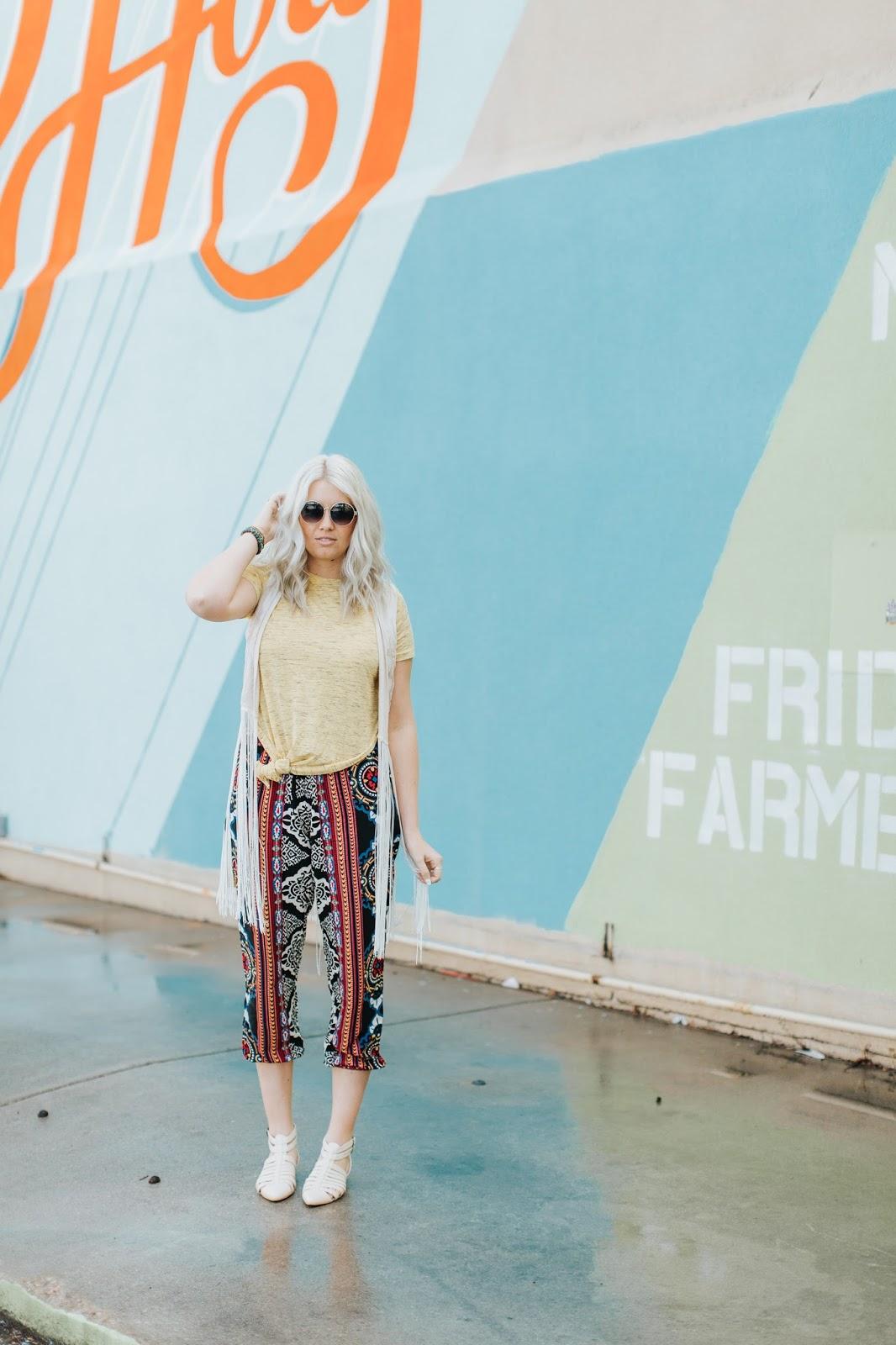 Boho Outfit, Harem Pants, Harper Trends