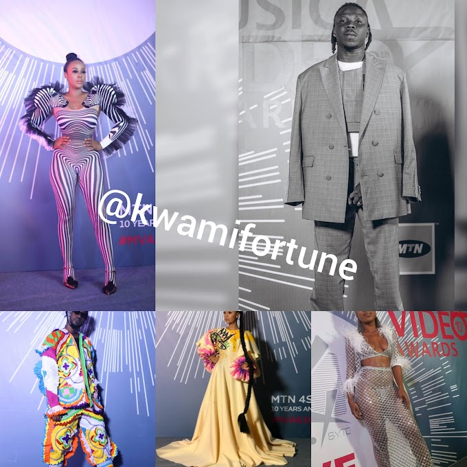 Photos And Videos From The MTN MVA's Awards 2019