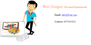 Web Designer (Fresher/Experienced) in Ahmedabad