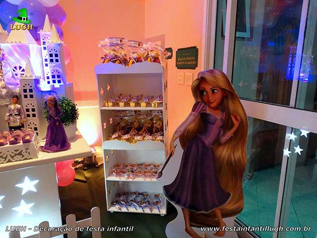 Os Enrolados (Rapunzel) - Mesa temática - Festa de aniversário infantil