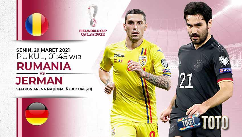 Hasil Kualifikasi Piala Dunia 2022 Jerman Menang 1- 0 Atas Rumania