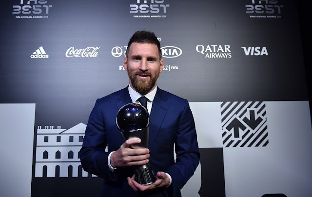 FIFA The Best Award 2019: Lionel Messi Best Player