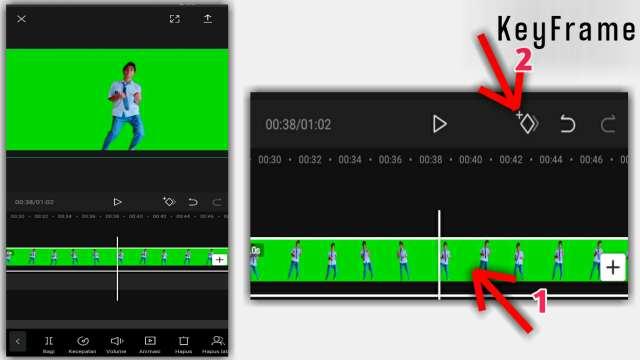Cara Zoom Video Menggunakan KeyFrame di CapCut