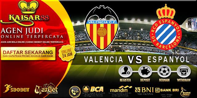 PREDIKSI TEBAK SKOR JITU LIGA SPANYOL VALENCIA VS ESPANYOL 9 APRIL 2018