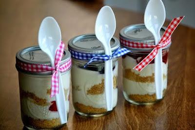 Jar Cheesecake Creative Business Opportunity Rich Art