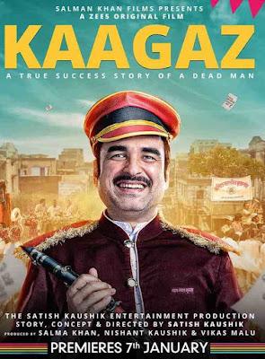 Kaagaz (2021) Star Cast Name, wiki