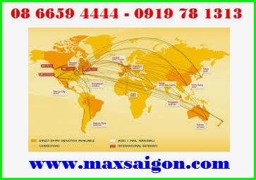 Mạng lưới Dịch vụ chuyển phát nhanh DHL rộng khắp trên thế giới