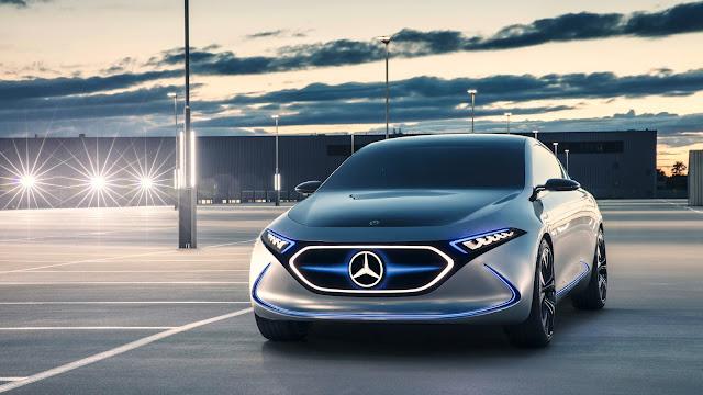 2017 Mercedes Concept EQA - #Mercedes #Concept
