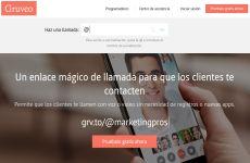 Gruveo: servicio para hacer videollamadas seguras y anónimas (enlace mágico de llamadas de voz y video)