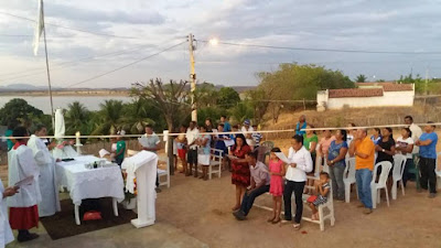 ENCERRAMENTO DA FESTA DE NOSSA SENHORA DE FÁTIMA NA COMUNIDADE DO BRITADOR EM LIMA CAMPOS