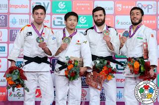 JUDO - Fran Garrigós y Nikoloz Sherazadishvili subcampenes del Masters Final en Qingdao