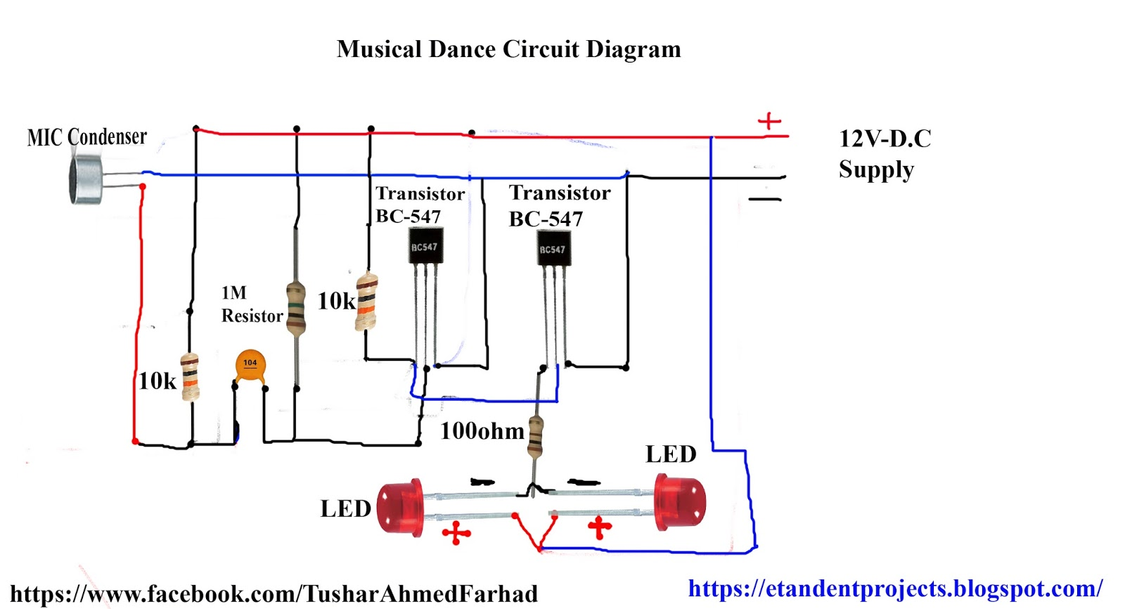 Facebook Wallpaper For Electronic Circuits Diagrams Trusted Circuit Diagram Water Level Indicator Et Ent Projects Board